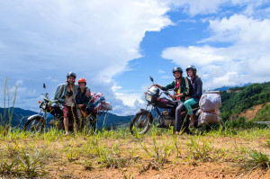 Motorcycling in Vietnam