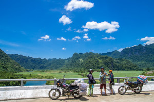 Motorbiking in vietnam